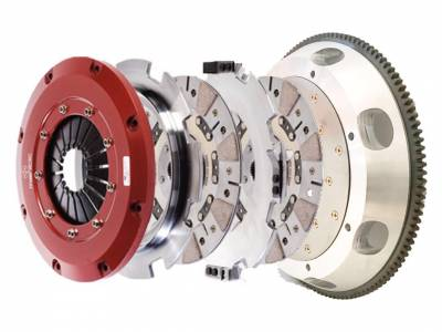 Mantic Clutch - Mantic Twin Disc Clutch Kit: Dodge Challenger 2008 - 2018 (5.7L Hemi, 6.1L SRT8, 6.4L SRT & Scat Pack, 6.2L SRT Hellcat)