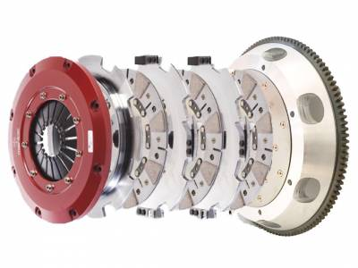 HEMI TRANSMISSION PARTS - Hemi Lightweight Flywheels - Mantic Clutch - Mantic Triple Disc Clutch Kit: Dodge Challenger 2008 - 2020 (5.7L Hemi, 6.1L SRT8, 6.4L SRT & Scat Pack, 6.2L SRT Hellcat)