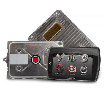 6.2L Hellcat / Trackhawk Engine Parts - 6.2L Hellcat/ TrackhawkProgrammer - Diablo Sport - DiabloSport Modified PCM + Trinity 2 Programmer Combo: Dodge Challenger 2015 (6.2L SRT Hellcat)