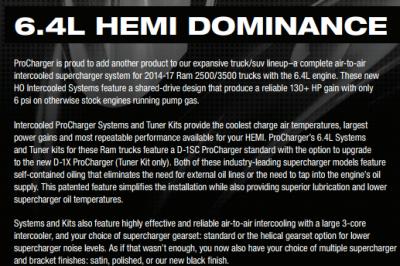Procharger - Procharger Supercharger Kit: Dodge Ram 6.4L Hemi 2014 - 2019 (2500/3500) - Image 7