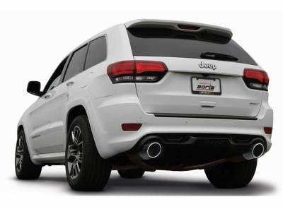 Borla - Borla ATAK Cat-Back Exhaust: Jeep Grand Cherokee 6.4L SRT 2015 - 2021 - Image 2
