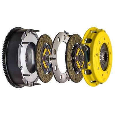HEMI TRANSMISSION PARTS - Hemi Lightweight Flywheels - ACT - ACT Twin Disc HD Street Clutch Kit: Dodge Challenger V8 2008 - 2019 (5.7L Hemi, 6.1L SRT8, 6.4L 392)