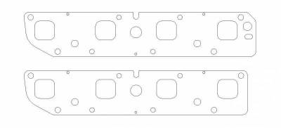 Cometic - Cometic MLS Exhaust Manifold Gaskets (Pair): Chrysler / Dodge / Jeep 5.7L Hemi 2003 - 2008