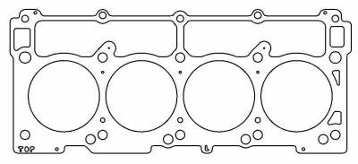 "Dodge Challenger Engine Performance - Dodge Challenger Engine Gaskets - Cometic - Cometic MLS Head Gasket (4.100"" Bore): Chrysler / Dodge / Jeep 5.7L Hemi 2003 - 2020"