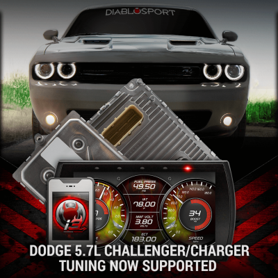 Diablo Sport - DiabloSport Modified PCM + i3 Programmer Combo: Dodge Challenger 2018 (5.7L Hemi & 6.4L 392) - Image 5