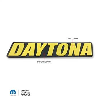 American Brother Designs - American Brother Designs Daytona Front Grille Badge: Dodge Challenger / Charger 2006 - 2020