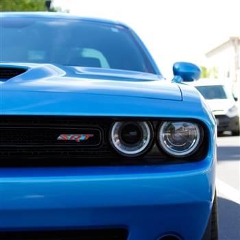 American Brother Designs - American Brother Designs SRT Front Grille Badge (2-Color): Dodge Challenger 2008 - 2020 - Image 2