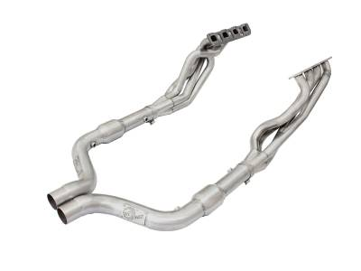 "AFE Power - AFE Long-Tube Headers & Mid Pipes (1 7/8""): 300 / Challenger / Charger 6.1L & 6.4L SRT8 2006 - 2014"