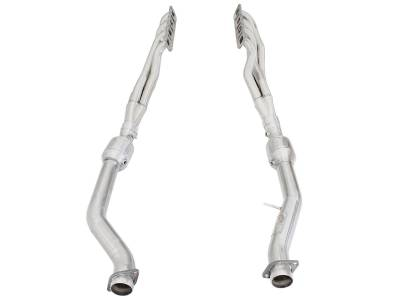 AFE Power - AFE Long-Tube Headers & Mid Pipes: Jeep Grand Cherokee 6.4L SRT / 6.2L Track Hawk 2012 - 2020 - Image 2