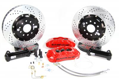 "Dodge Magnum Brake Upgrades - Dodge Magnum Big Brake Kit - Baer - Baer 14"" Pro+ Rear Big Brake Kit: 300 / Challenger / Charger / Magnum 2005 - 2021 (Excl. SRT)"
