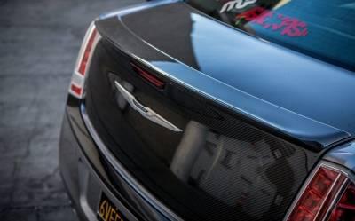 TruCarbon - TruCarbon DCA50 Carbon Fiber Rear Spoiler: Chrysler 300 2011 - 2020 - Image 2