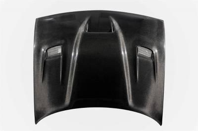 TruCarbon - TruCarbon A19 Carbon Fiber Hood: Dodge Challenger 2008 - 2020 - Image 2