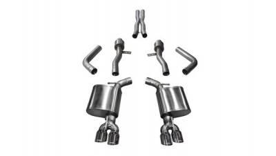 5.7L / 6.1L / 6.4L Hemi Engine Parts - Hemi Exhaust Systems - Corsa - Corsa Sport Exhaust System: Dodge Challenger 6.2L Hellcat & 6.4L SRT / Scat Pack 2015 - 2020