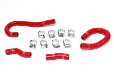 HEMI COOLING PARTS - Hemi Radiator Hoses - HPS - HPS Silicone Heater Hose Kit: Jeep Grand Cherokee 6.4L SRT 2012 - 2021