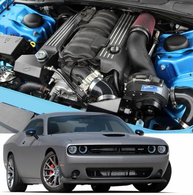 DODGE CHALLENGER PARTS - Dodge Challenger Supercharger Kits - Procharger - Procharger Supercharger Kit: Dodge Challenger 6.4L SRT / ScatPack 2015 - 2020
