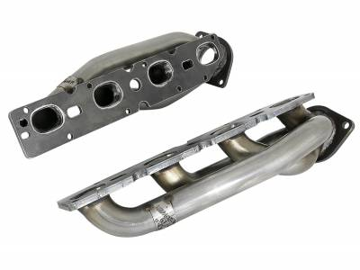 Dodge Ram Engine Performance - Dodge Ram Headers & Mid Pipes - AFE Power - AFE Shorty Headers: Dodge Ram 5.7L Hemi 1500 2019 - 2021