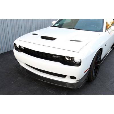 APR - APR Carbon Fiber Front Lip: Dodge Challenger SRT Hellcat 2015 - 2020 (NON WIDEBODY) - Image 3