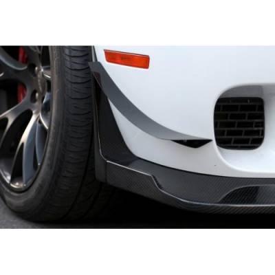 APR - APR Carbon Fiber Front Bumper Canards: Dodge Challenger SRT Hellcat 2015 - 2021 (NON WIDEBODY) - Image 2