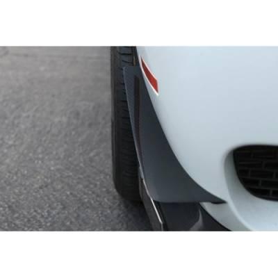 APR - APR Carbon Fiber Front Bumper Canards: Dodge Challenger SRT Hellcat 2015 - 2021 (NON WIDEBODY) - Image 3