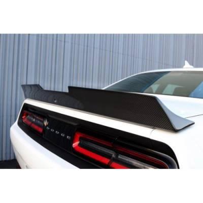 APR - APR Carbon Fiber Rear Spoiler: Dodge Challenger SRT Hellcat 2015 - 2020 - Image 3
