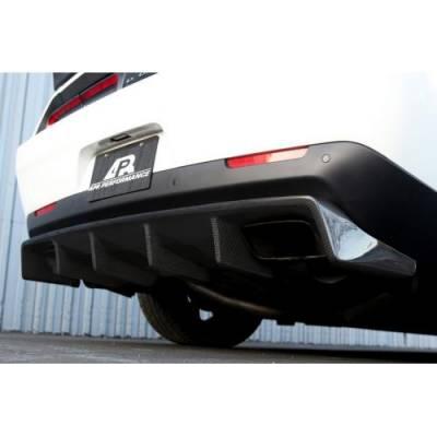 APR - APR Carbon Fiber Rear Diffuser: Dodge Challenger SRT Hellcat 2015 - 2020 - Image 3