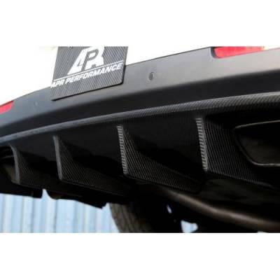 APR - APR Carbon Fiber Rear Diffuser: Dodge Challenger SRT Hellcat 2015 - 2020 - Image 4