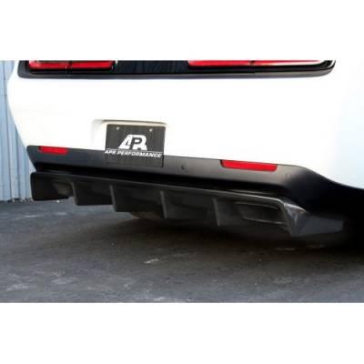 APR - APR Carbon Fiber Rear Diffuser: Dodge Challenger SRT Hellcat 2015 - 2020 - Image 6