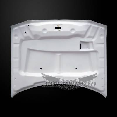 Amerihood - Amerihood Type-E Functional Ram Air Hood: Chrysler 300 2005 - 2010 - Image 4