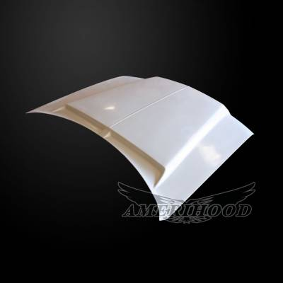 Amerihood - Amerihood Type-E Functional Ram Air Hood: Chrysler 300 2005 - 2010 - Image 6