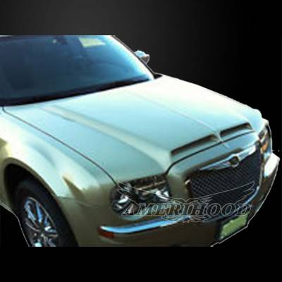 Amerihood - Amerihood Type-E Functional Ram Air Hood: Chrysler 300 2005 - 2010 - Image 7