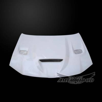 Chrysler 300 Exterior Parts - Chrysler 300 Hood - Amerihood - Amerihood Hellcat Functional Ram Air Hood: Chrysler 300 2011 - 2020