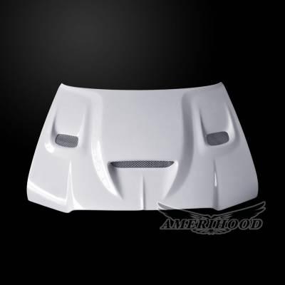 Amerihood - Amerihood Hellcat Functional Ram Air Hood: Chrysler 300 2005 - 2010 - Image 2