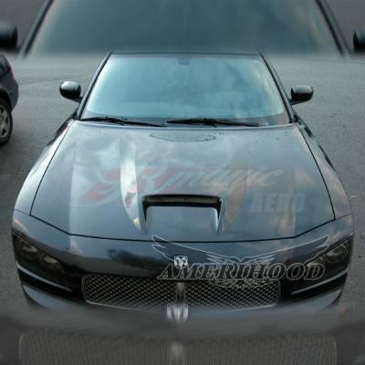 Amerihood - Amerihood SRT Functional Ram Air Hood: Dodge Charger 2006 - 2010 - Image 7