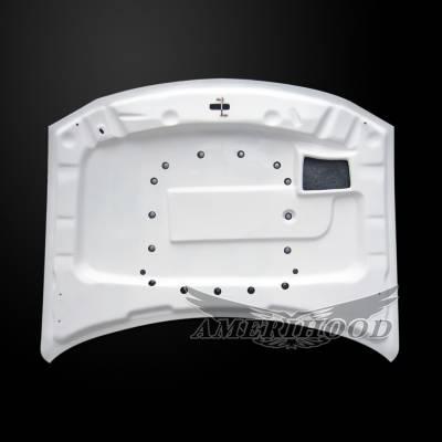 Amerihood - Amerihood T/A Style Functional Ram Air Hood: Dodge Charger 2006 - 2010 - Image 5