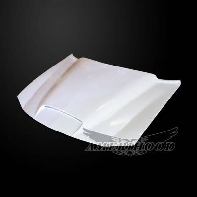 Dodge Charger Exterior Parts - Dodge Charger Hood - Amerihood - Amerihood RKS Functional Ram Air Hood: Dodge Charger 2006 - 2010