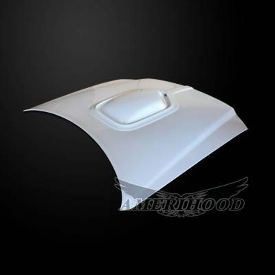 Amerihood - Amerihood Shaker Style Functional Ram Air Hood: Dodge Magnum 2005 - 2007 - Image 2