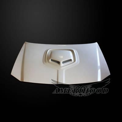 Amerihood - Amerihood Shaker Style Functional Ram Air Hood: Dodge Magnum 2005 - 2007 - Image 3