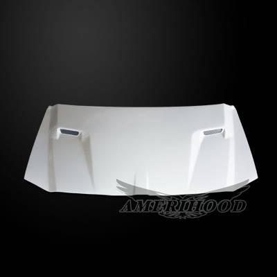 HEMI EXTERIOR PARTS - Hemi Hoods - Amerihood - Amerihood CLG Functional Ram Air Hood: Dodge Magnum 2005 - 2007