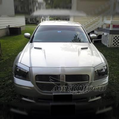 Amerihood - Amerihood CLG Functional Ram Air Hood: Dodge Magnum 2005 - 2007 - Image 6