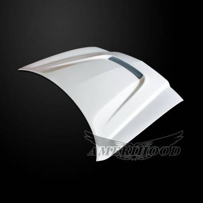 HEMI EXTERIOR PARTS - Hemi Hoods - Amerihood - Amerihood SRT Functional Ram Air Hood: Dodge Charger 2011 - 2014