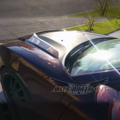 Amerihood - Amerihood SRT Functional Ram Air Hood: Dodge Charger 2011 - 2014 - Image 10