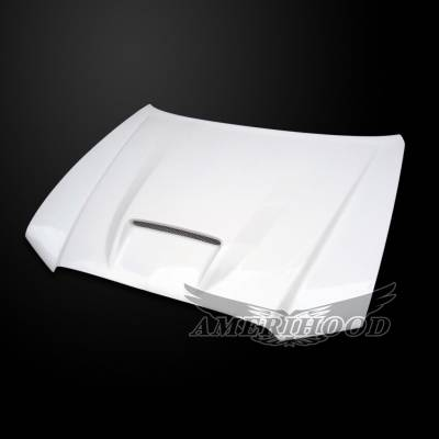 HEMI EXTERIOR PARTS - Hemi Hoods - Amerihood - Amerihood SRT2 Functional Ram Air Hood: Dodge Charger 2011 - 2014