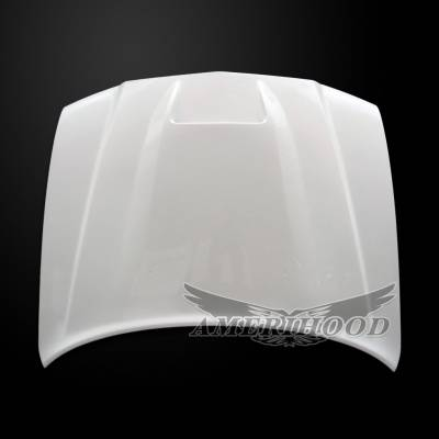 Amerihood - Amerihood SRT2 Functional Ram Air Hood: Dodge Charger 2011 - 2014 - Image 3