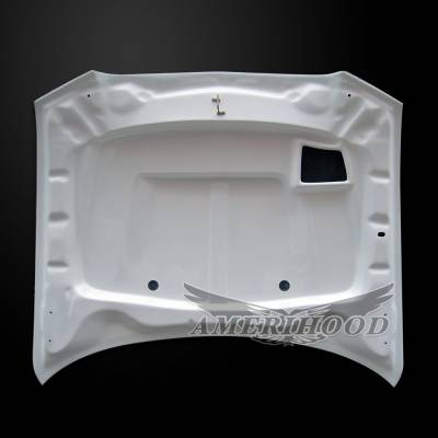 Amerihood - Amerihood SRT2 Functional Ram Air Hood: Dodge Charger 2011 - 2014 - Image 5
