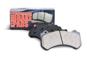 Chrysler 300 Brake Upgrades - Chrysler 300 Brake Pads - Stoptech - Stoptech Posi-Quiet Front Brake Pads: 300 / Challenger / Charger / Magnum 5.7L Hemi 2005 - 2020