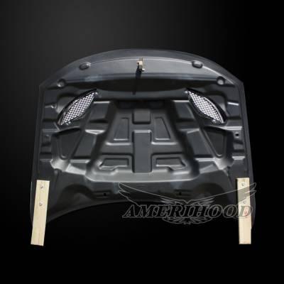 Amerihood - Amerihood Carbon Fiber Hellcat Functional Ram Air Hood: Dodge Charger 2015 - 2020 - Image 5
