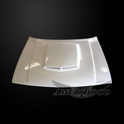 Amerihood - Amerihood T/A Style Functional Ram Air Hood: Dodge Challenger 2008 - 2020 - Image 6