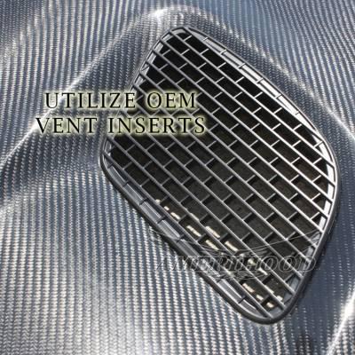 Amerihood - Amerihood Carbon Fiber Hellcat Functional Ram Air Hood: Dodge Challenger 2008 - 2020 - Image 6