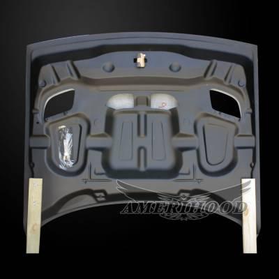Amerihood - Amerihood Carbon Fiber Hellcat Functional Ram Air Hood: Dodge Challenger 2008 - 2020 - Image 8