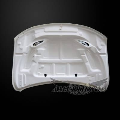 Amerihood - Amerihood SRT Functional Ram Air Hood: Jeep Grand Cherokee 2011 - 2020 - Image 6